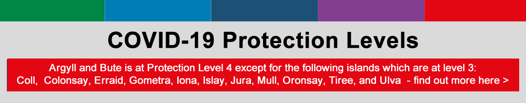 COVID-19 Protection Levels - Argyll and Bute is at Level 2
