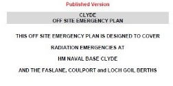 Clyde off-site emergency plan