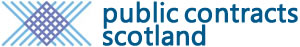 Public Contracts Scotland website